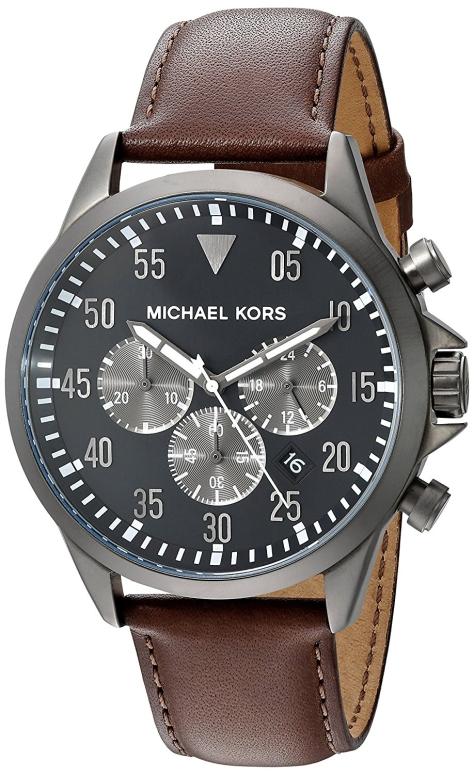 マイケルコース Michael Kors 男性用 腕時計 メンズ ウォッチ グレー MK8536 送料無料 【並行輸入品】