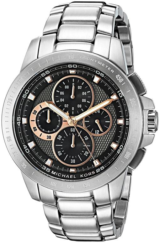マイケルコース Michael Kors 男性用 腕時計 メンズ ウォッチ グレー MK8528 送料無料 【並行輸入品】