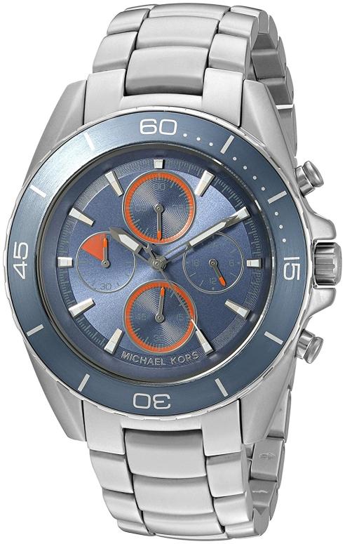 マイケルコース Michael Kors 男性用 腕時計 メンズ ウォッチ ブルー MK8484 送料無料 【並行輸入品】