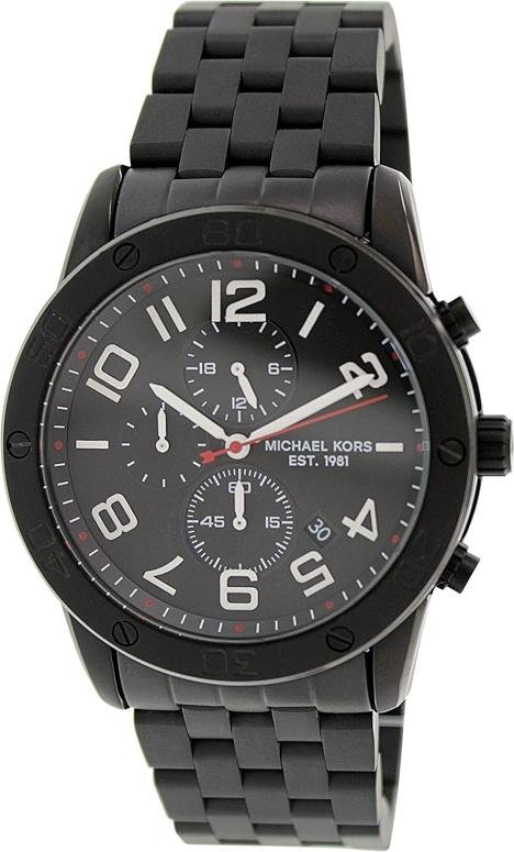 マイケルコース Michael Kors 男性用 腕時計 メンズ ウォッチ ブラック MK8350 送料無料 【並行輸入品】