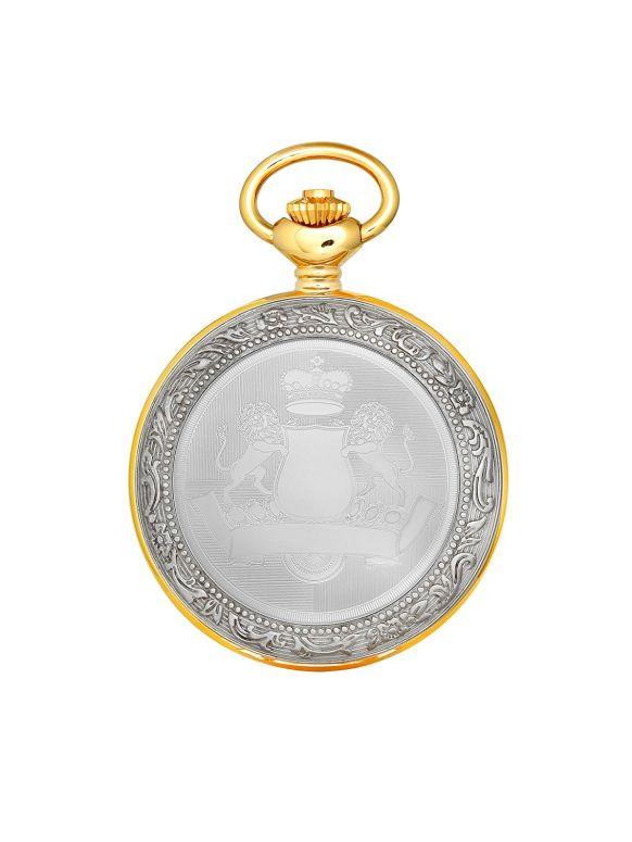 チャールズヒューバート Charles-Hubert, Paris 男女兼用 懐中時計 ユニセックス ポケット ウォッチ ホワイト DWA011 送料無料 【並行輸入品】