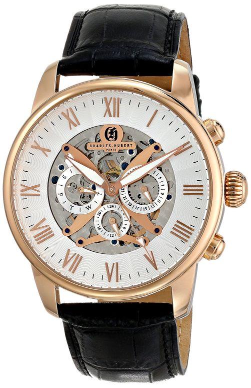 チャールズヒューバート Charles-Hubert, Paris 男性用 腕時計 メンズ ウォッチ シルバー 3964-RG 送料無料 【並行輸入品】