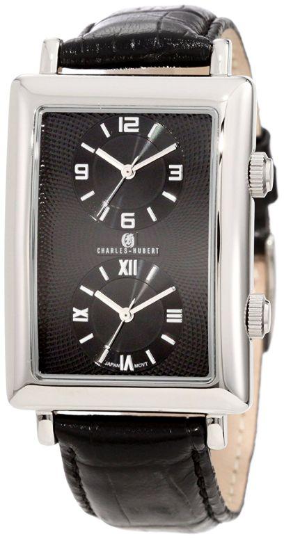 チャールズヒューバート Charles-Hubert, Paris 男性用 腕時計 メンズ ウォッチ ブラック 3854-B 送料無料 【並行輸入品】