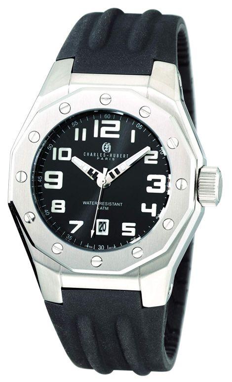 チャールズヒューバート Charles-Hubert, Paris 男性用 腕時計 メンズ ウォッチ ブラック 3792 送料無料 【並行輸入品】