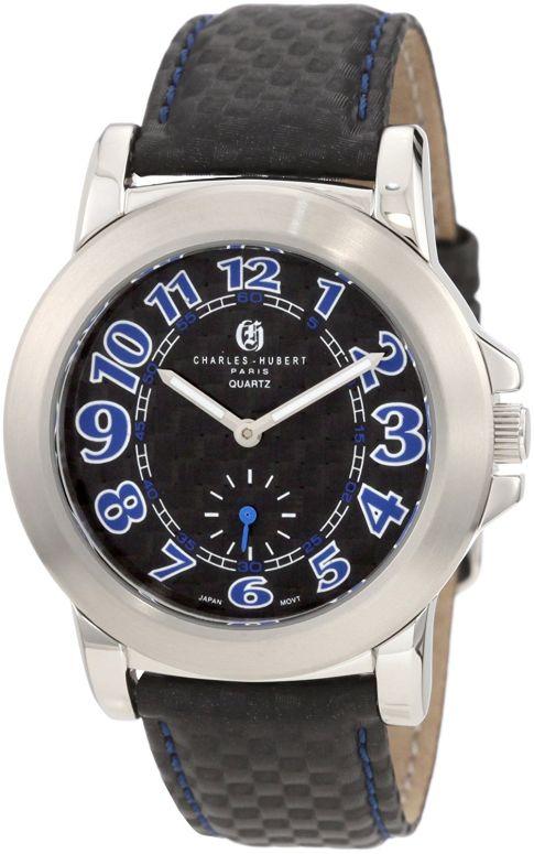 チャールズヒューバート Charles-Hubert, Paris 男性用 腕時計 メンズ ウォッチ ブラック 3740 送料無料 【並行輸入品】