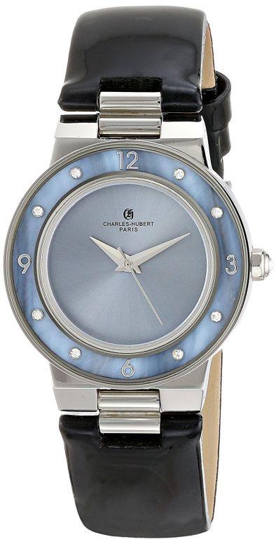 チャールズヒューバート Charles-Hubert, Paris 女性用 腕時計 レディース ウォッチ ブルー 6899-B 送料無料 【並行輸入品】