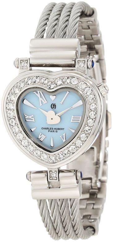 チャールズヒューバート Charles-Hubert, Paris 女性用 腕時計 レディース ウォッチ パール 6780-E 送料無料 【並行輸入品】