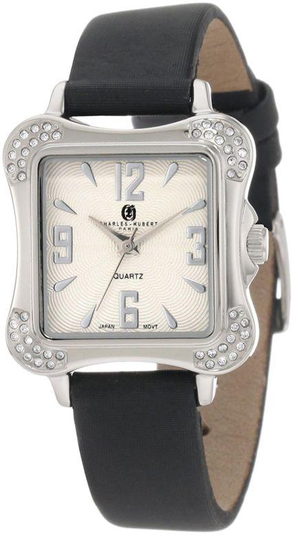 チャールズヒューバート Charles-Hubert, Paris 女性用 腕時計 レディース ウォッチ シルバー 6735-W 送料無料 【並行輸入品】