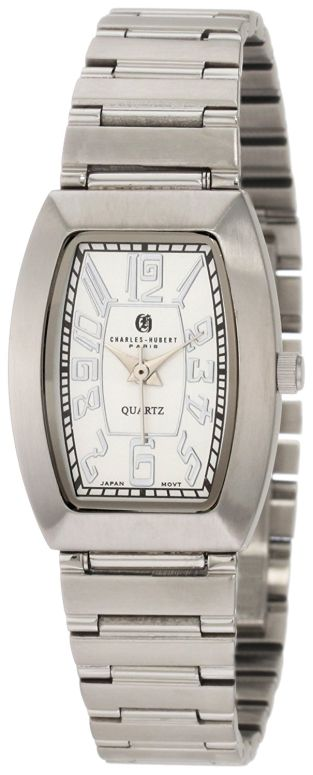 チャールズヒューバート Charles-Hubert, Paris 女性用 腕時計 レディース ウォッチ ホワイト 6800 送料無料 【並行輸入品】