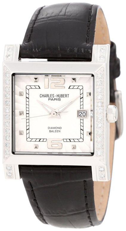 Paris 【並行輸入品】 ウォッチ 18310-WBC チャールズヒューバート Charles-Hubert, 女性用 送料無料 ホワイト レディース 腕時計