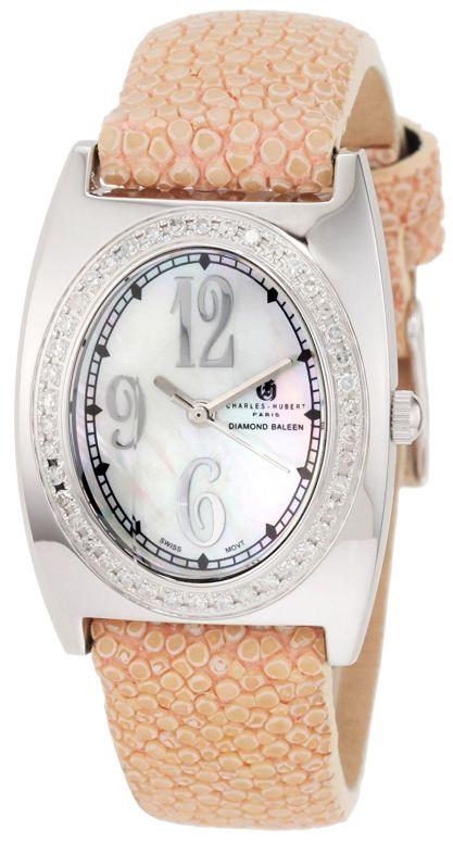 チャールズヒューバート Charles-Hubert, Paris 女性用 腕時計 レディース ウォッチ パール 18311-WL 送料無料 【並行輸入品】