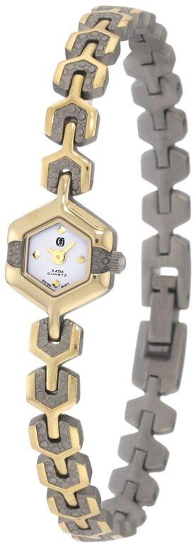 チャールズヒューバート Charles-Hubert, Paris 女性用 腕時計 レディース ウォッチ ホワイト 6739-T 送料無料 【並行輸入品】