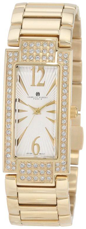 チャールズヒューバート Charles-Hubert, Paris 女性用 腕時計 レディース ウォッチ シルバー 6770-G 送料無料 【並行輸入品】