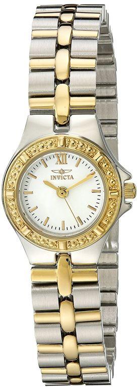 インビクタ Invicta インヴィクタ 女性用 腕時計 レディース ウォッチ ホワイト 0136 送料無料 【並行輸入品】