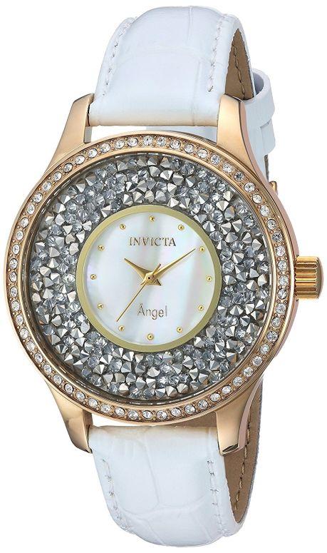 インビクタ Invicta インヴィクタ 女性用 腕時計 レディース ウォッチ ホワイト 24589 送料無料 【並行輸入品】