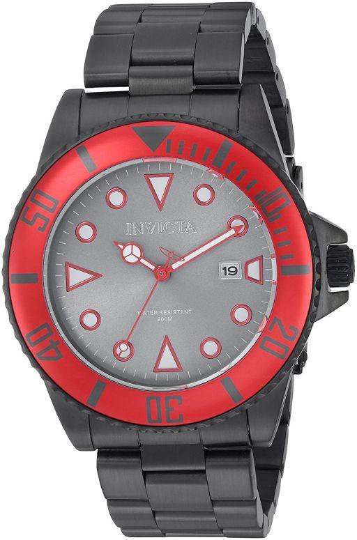 インビクタ Invicta インヴィクタ 男性用 腕時計 メンズ ウォッチ グレー 90296 送料無料 【並行輸入品】