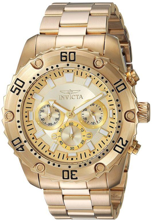 インビクタ Invicta インヴィクタ 男性用 腕時計 メンズ ウォッチ ゴールド 24835 送料無料 【並行輸入品】