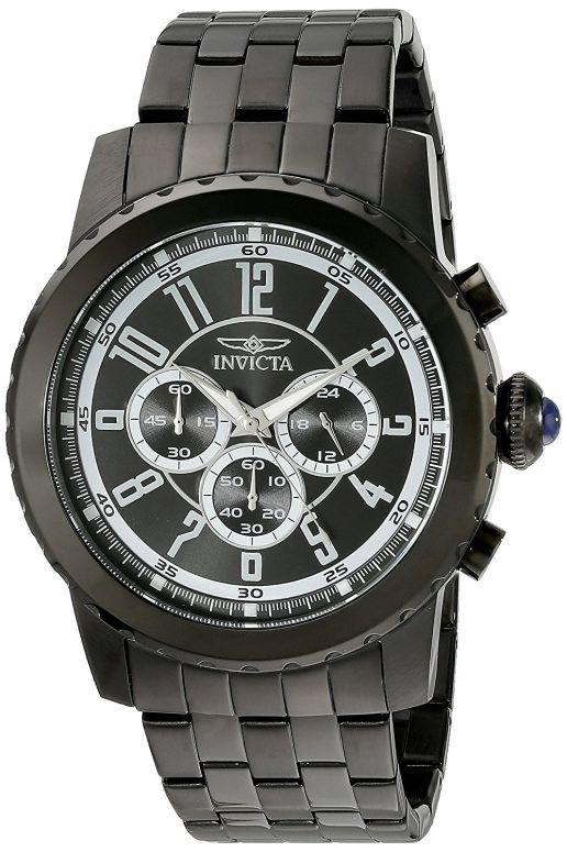 インビクタ Invicta インヴィクタ 男性用 腕時計 メンズ ウォッチ ブラック 19466 送料無料 【並行輸入品】