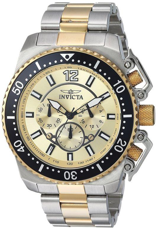 インビクタ Invicta インヴィクタ 男性用 腕時計 メンズ ウォッチ ゴールド 21955 送料無料 【並行輸入品】