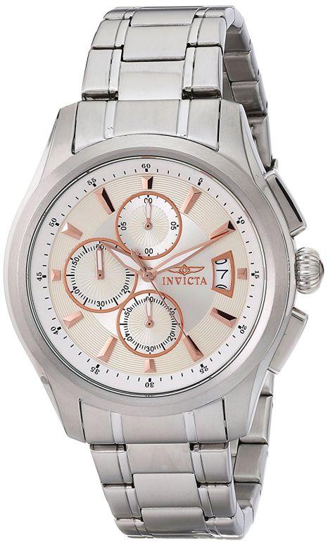 インビクタ Invicta インヴィクタ 男性用 腕時計 メンズ ウォッチ クロノグラフ シルバー 1481 送料無料 【並行輸入品】