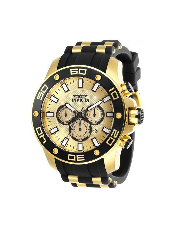 インビクタ Invicta インヴィクタ 男性用 腕時計 メンズ ウォッチ クロノグラフ ゴールド 26088 送料無料 【並行輸入品】