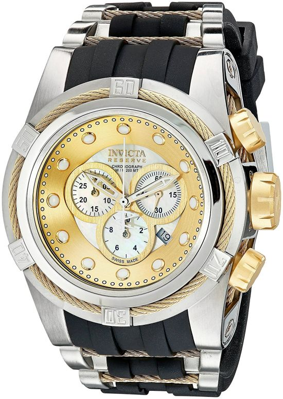 インビクタ Invicta インヴィクタ 男性用 腕時計 メンズ ウォッチ リザーブ reserve ボルト bolt シャンパン 0828 送料無料 【並行輸入品】