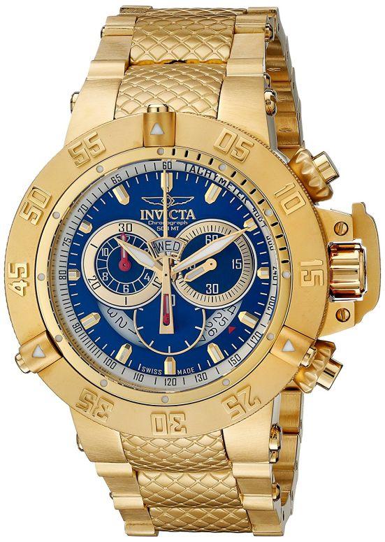 インビクタ Invicta インヴィクタ 男性用 腕時計 メンズ ウォッチ サブアクア subaqua クロノグラフ ブルー INVICTA-5404 送料無料 【並行輸入品】