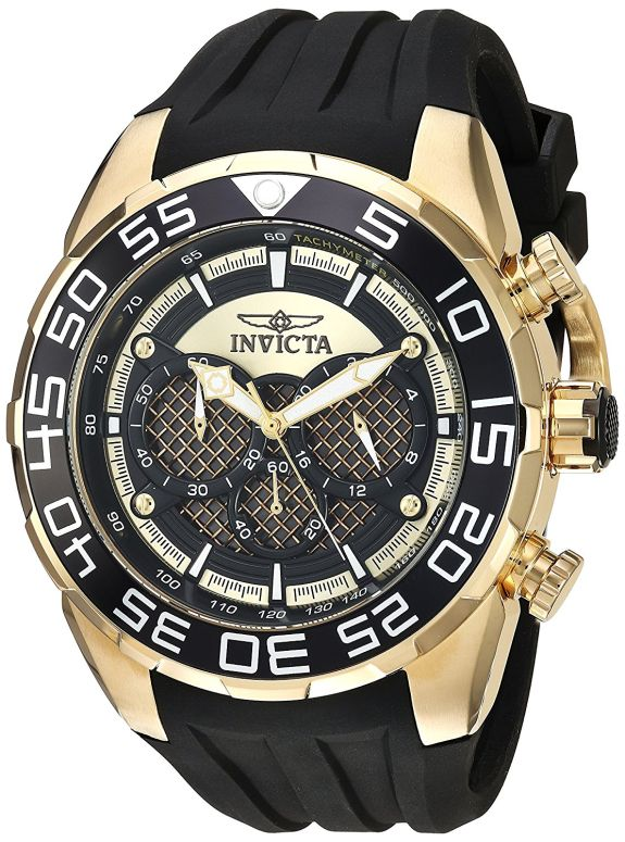 インビクタ Invicta インヴィクタ 男性用 腕時計 メンズ ウォッチ ゴールド 26301 送料無料 【並行輸入品】