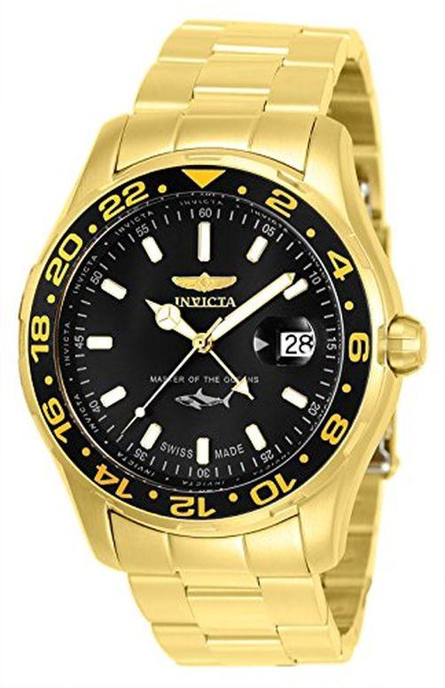 インビクタ Invicta インヴィクタ 男性用 腕時計 メンズ ウォッチ ブラック 25822 送料無料 【並行輸入品】