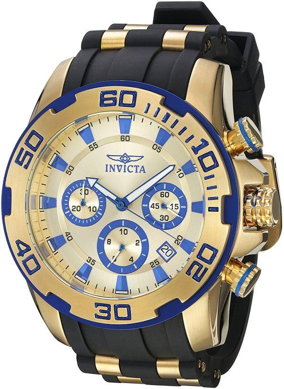 インビクタ Invicta インヴィクタ 男性用 腕時計 メンズ ウォッチ ゴールド 22308 送料無料 【並行輸入品】