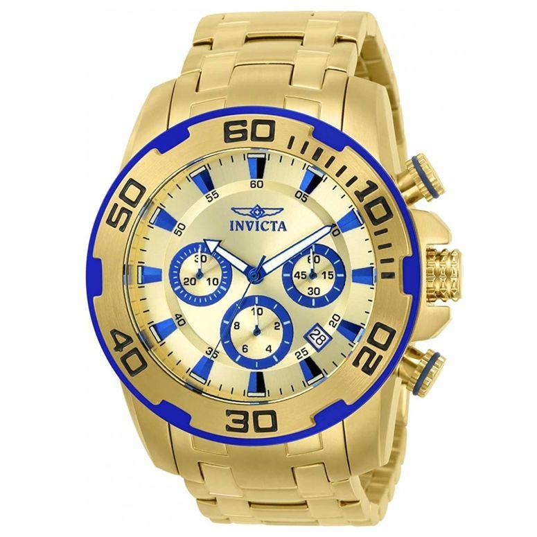 インビクタ Invicta インヴィクタ 男性用 腕時計 メンズ ウォッチ クロノグラフ ゴールド 22320 送料無料 【並行輸入品】