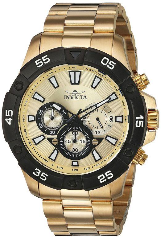 インビクタ Invicta インヴィクタ 男性用 腕時計 メンズ ウォッチ ゴールド 22789 送料無料 【並行輸入品】