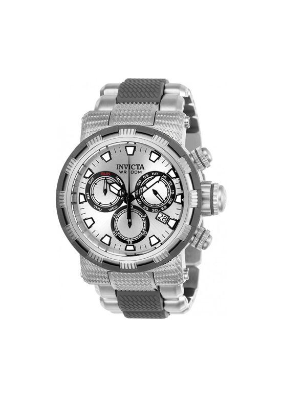 インビクタ Invicta インヴィクタ 男性用 腕時計 メンズ ウォッチ クロノグラフ シルバー 23977 送料無料 【並行輸入品】