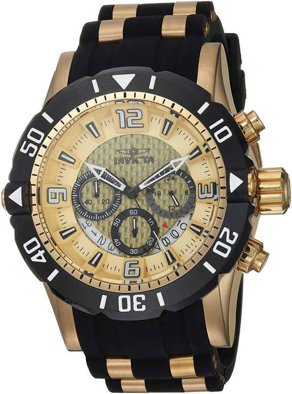 インビクタ Invicta インヴィクタ 男性用 腕時計 メンズ ウォッチ ゴールド 23705 送料無料 【並行輸入品】