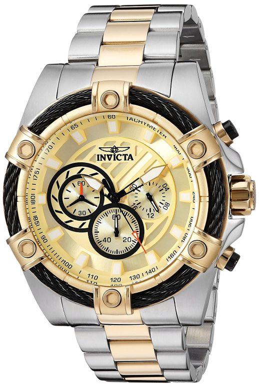 インビクタ Invicta インヴィクタ 男性用 腕時計 メンズ ウォッチ ゴールド 25518 送料無料 【並行輸入品】