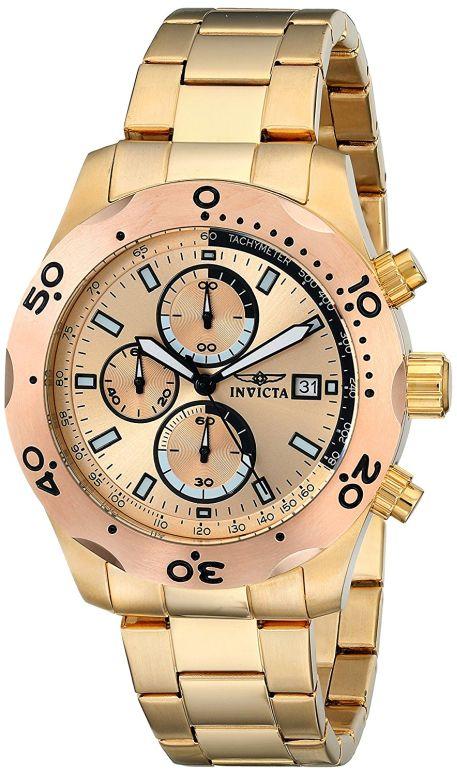 インビクタ Invicta インヴィクタ 男性用 腕時計 メンズ ウォッチ ゴールド 17753 送料無料 【並行輸入品】
