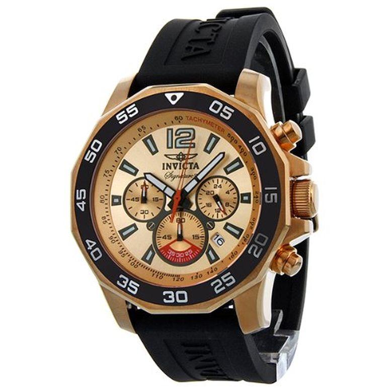 インビクタ Invicta インヴィクタ 男性用 腕時計 メンズ ウォッチ クロノグラフ ローズゴールド 7432 送料無料 【並行輸入品】