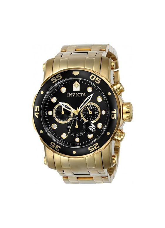 インビクタ Invicta インヴィクタ 男性用 腕時計 メンズ ウォッチ クロノグラフ ブラック 23650 送料無料 【並行輸入品】