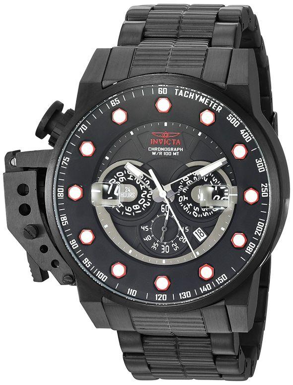 インビクタ Invicta インヴィクタ 男性用 腕時計 メンズ ウォッチ ブラック 18697 送料無料 【並行輸入品】