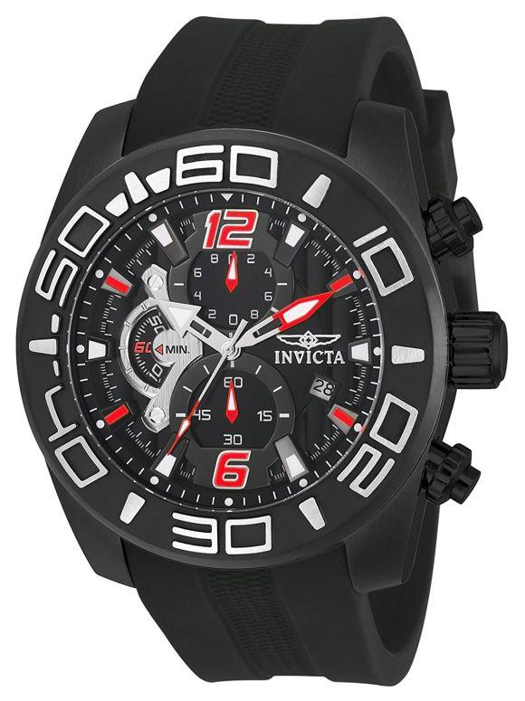 インビクタ Invicta インヴィクタ 男性用 腕時計 メンズ ウォッチ ブラック 22811 送料無料 【並行輸入品】