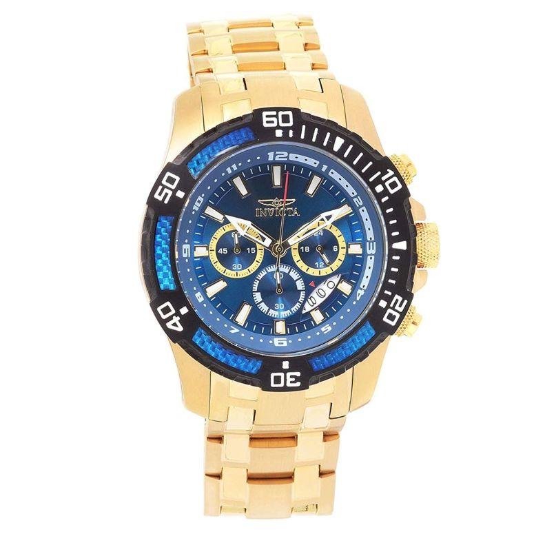インビクタ Invicta インヴィクタ 男性用 腕時計 メンズ ウォッチ クロノグラフ ブルー 24856 送料無料 【並行輸入品】