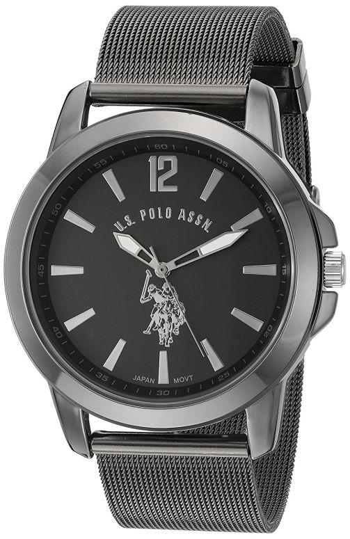 ユーエス ポロ アッスン U.S. Polo Assn. 男性用 腕時計 メンズ ウォッチ ブラック USC80384 送料無料 【並行輸入品】