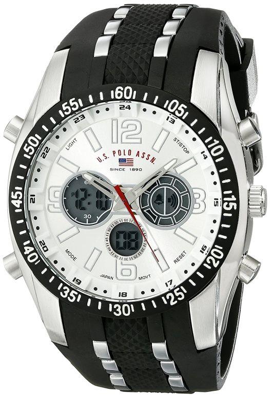 ユーエス ポロ アッスン U.S. Polo Assn. 男性用 腕時計 メンズ ウォッチ シルバー US9061 送料無料 【並行輸入品】