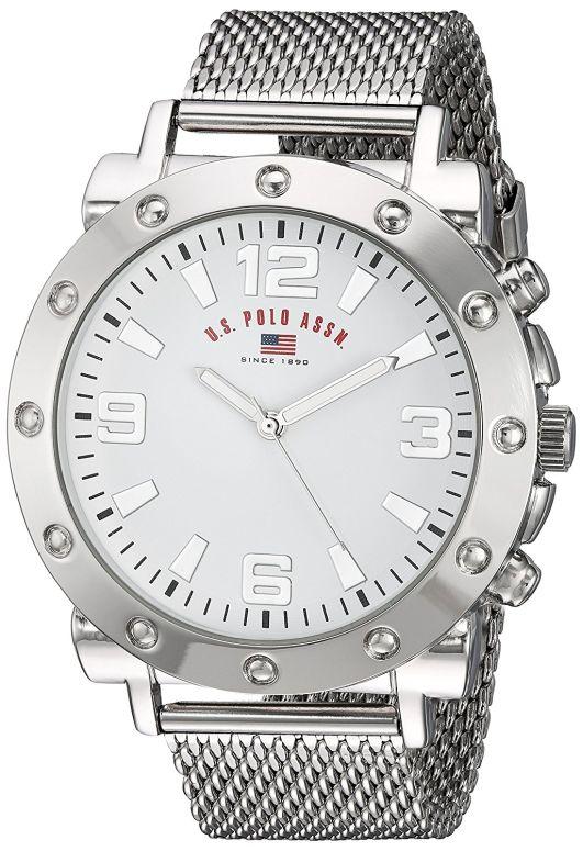 ユーエス ポロ アッスン U.S. Polo Assn. 男性用 腕時計 メンズ ウォッチ ホワイト US8815 送料無料 【並行輸入品】
