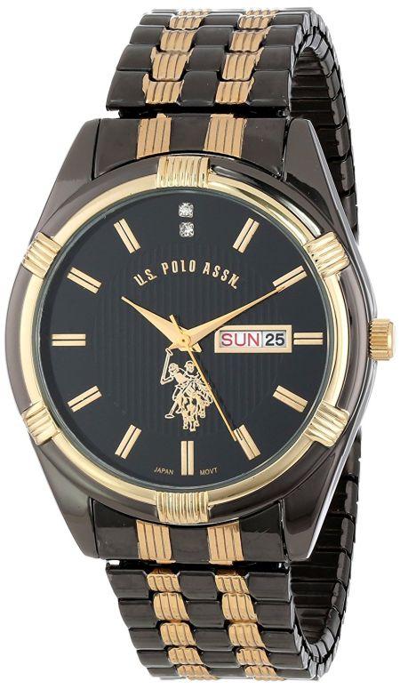 ユーエス ポロ アッスン U.S. Polo Assn. 男性用 腕時計 メンズ ウォッチ ブラック USC80047 送料無料 【並行輸入品】