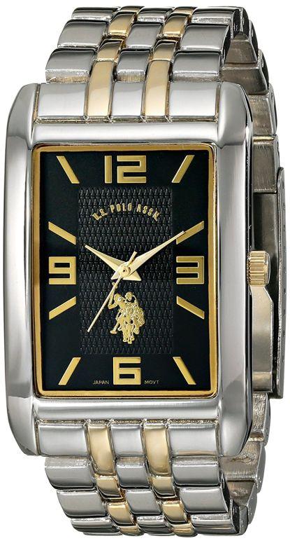 ユーエス ポロ アッスン U.S. Polo Assn. 男性用 腕時計 メンズ ウォッチ ブラック USC80292 送料無料 【並行輸入品】
