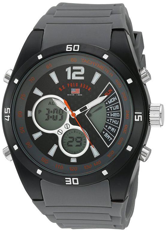 ユーエス ポロ アッスン U.S. Polo Assn. 男性用 腕時計 メンズ ウォッチ グレー US9538 送料無料 【並行輸入品】