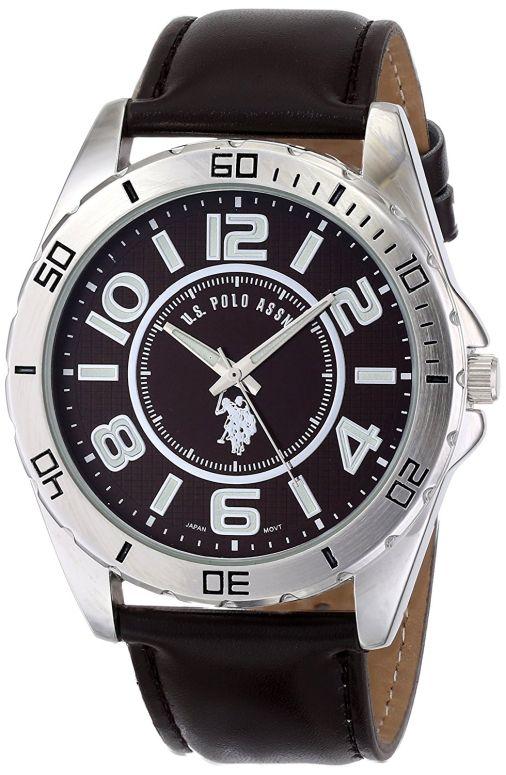 ユーエス ポロ アッスン U.S. Polo Assn. 男性用 腕時計 メンズ ウォッチ ブラウン USC50003 送料無料 【並行輸入品】