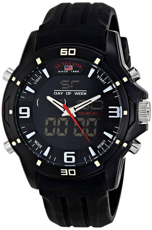 ユーエス ポロ アッスン U.S. Polo Assn. 男性用 腕時計 メンズ ウォッチ ブラック US9490 送料無料 【並行輸入品】