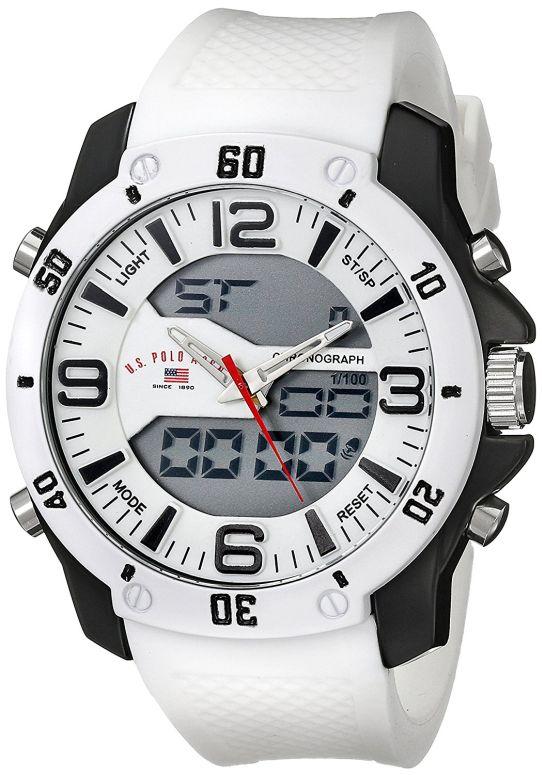 ユーエス ポロ アッスン U.S. Polo Assn. 男性用 腕時計 メンズ ウォッチ ホワイト US9471 送料無料 【並行輸入品】